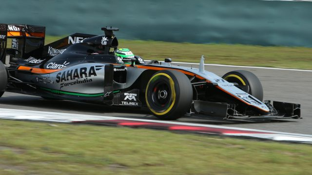 Nico Hulkenberg (GER) Force India VJM09 at Formula One World Championship, Rd3, Chinese Grand Prix, Race, Shanghai, China, Sunday 17 April 2016. &copy&#x3b; Sutton Motorsport Images