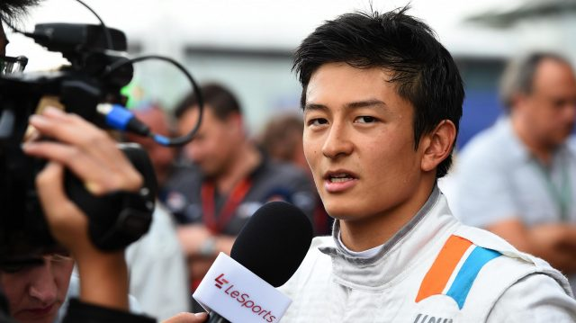 Rio Haryanto (IDN) Manor Racing talks with the media at Formula One World Championship, Rd3, Chinese Grand Prix, Qualifying, Shanghai, China, Saturday 16 April 2016. &copy&#x3b; Sutton Motorsport Images