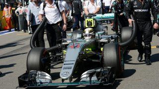 Mercedes have 'no idea' how Hamilton dragged car home in Russia