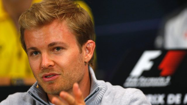 Nico Rosberg (GER) Mercedes AMG F1 in the Press Conference at Formula One World Championship, Rd6, Monaco Grand Prix, Preparations, Monte-Carlo, Monaco, Wednesday 25 May 2016. &copy&#x3b; Sutton Images