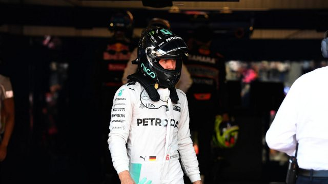 Nico Rosberg (GER) Mercedes AMG F1 in parc ferme at Formula One World Championship, Rd6, Monaco Grand Prix, Qualifying, Monte-Carlo, Monaco, Saturday 28 May 2016. &copy&#x3b; Sutton Images