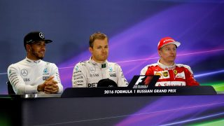 FIA post-race press conference - Russia