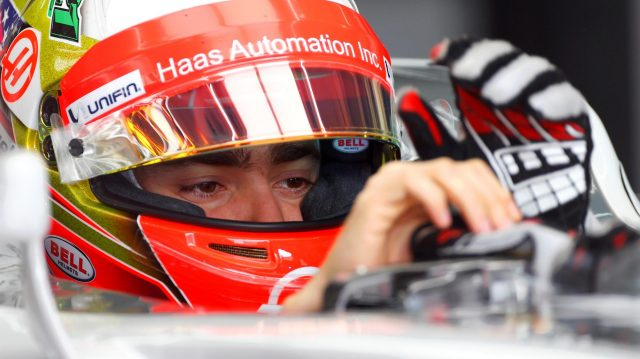 Esteban Gutierrez (MEX) Haas VF-16 at Formula One Testing, Day Two, Barcelona, Spain, 18 May 2016. &copy&#x3b; Sutton Images