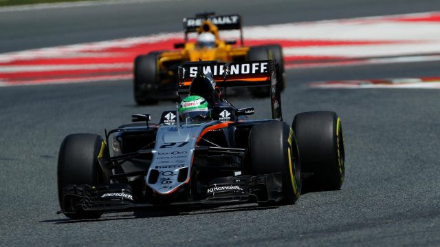 Nico Hulkenberg (GER) Force India VJM09 at Formula One World Championship, Rd5, Spanish Grand Prix, Race, Barcelona, Spain, Sunday 15 May 2016. &copy&#x3b; Sutton Images