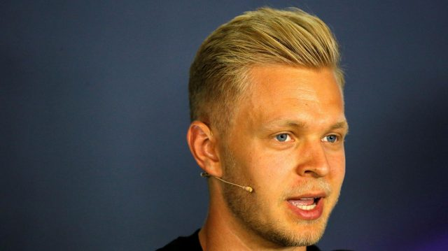 Kevin Magnussen (DEN) Renault Sport F1 Team in the Press Conference at Formula One World Championship, Rd9, Austrian Grand Prix, Preparations, Spielberg, Austria, Thursday 30 June 2016. &copy&#x3b; Sutton Images