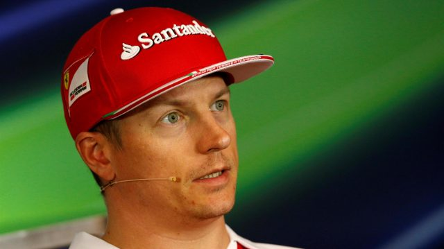 Kimi Raikkonen (FIN) Ferrari in the Press Conference at Formula One World Championship, Rd9, Austrian Grand Prix, Preparations, Spielberg, Austria, Thursday 30 June 2016. &copy&#x3b; Sutton Images