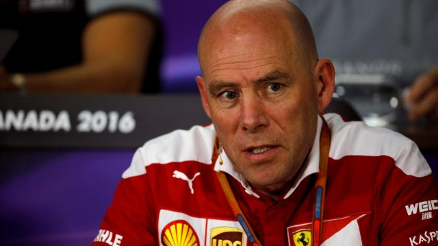 Jock Clear (GBR) Ferrari Chief Engineer in the Press Conference at Formula One World Championship, Rd7, Canadian Grand Prix, Practice, Montreal, Canada, Friday 10 June 2016. &copy&#x3b; Sutton Images