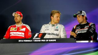FIA post-race press conference - Europe