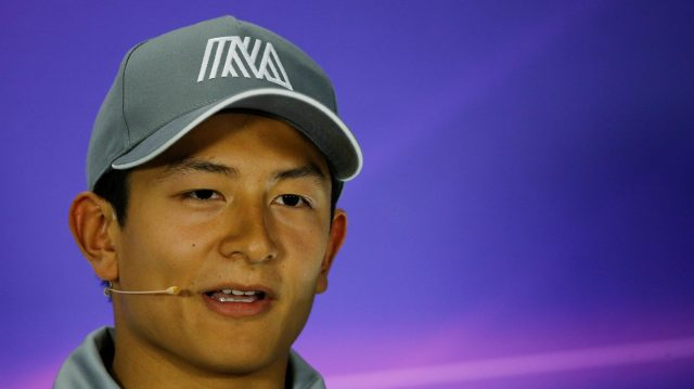 Rio Haryanto (IDN) Manor Racing in the Press Conference at Formula One World Championship, Rd8, European Grand Prix, Preparations, Baku City Circuit, Baku, Azerbaijan, Thursday 16 June 2016. &copy&#x3b; Sutton Images
