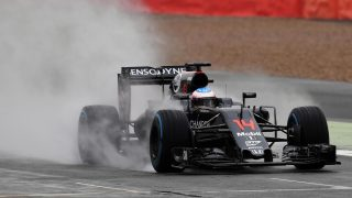 Alonso fastest on opening day of Silverstone test