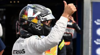 Qualifying - Last-gasp Rosberg grabs home pole