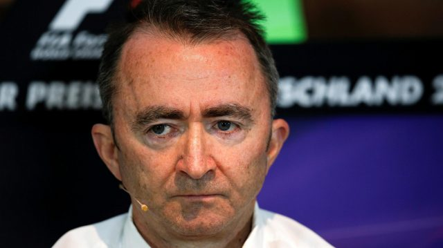 Paddy Lowe (GBR) Mercedes AMG F1 Executive Director (Technical) in the Press Conference at Formula One World Championship, Rd12, German Grand Prix, Practice, Hockenheim, Germany, Friday 29 July 2016. &copy&#x3b; Sutton Images