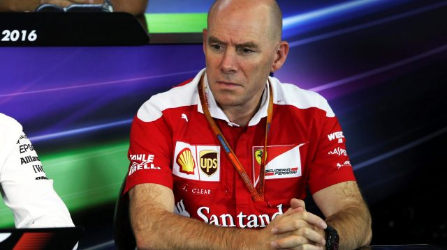 Jock Clear (GBR) Ferrari Chief Engineer in the Press Conference at Formula One World Championship, Rd12, German Grand Prix, Practice, Hockenheim, Germany, Friday 29 July 2016. &copy&#x3b; Sutton Images