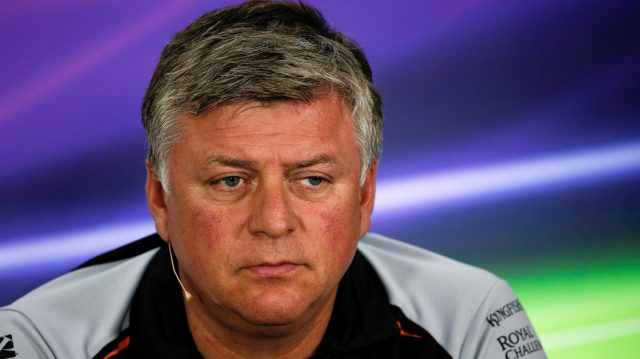 Otmar Szafnauer (USA) Force India Formula One Team Chief Operating Officer in the Press Conference at Formula One World Championship, Rd12, German Grand Prix, Practice, Hockenheim, Germany, Friday 29 July 2016. &copy&#x3b; Sutton Images