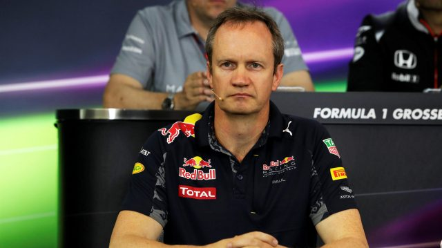 Paul Monaghan (GBR) Red Bull Racing Chief Engineer in the Press Conference at Formula One World Championship, Rd12, German Grand Prix, Practice, Hockenheim, Germany, Friday 29 July 2016. &copy&#x3b; Sutton Images