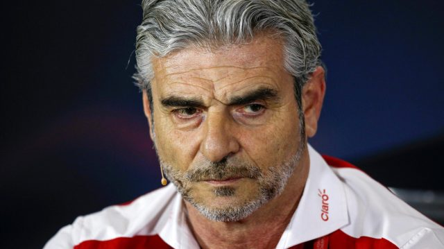 Maurizio Arrivabene (ITA) Ferrari Team Principal in the Press Conference at Formula One World Championship, Rd10, British Grand Prix, Practice, Silverstone, England, Friday 8 July 2016. &copy&#x3b; Sutton Images