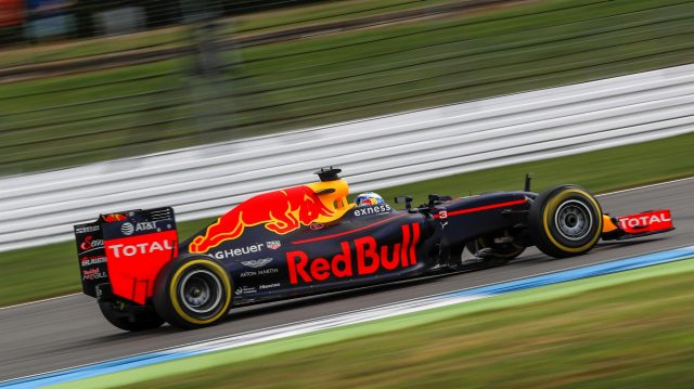 Daniel Ricciardo (AUS) Red Bull Racing RB12 at Formula One World Championship, Rd12, German Grand Prix, Qualifying, Hockenheim, Germany, Saturday 30 July 2016. &copy&#x3b; Sutton Images