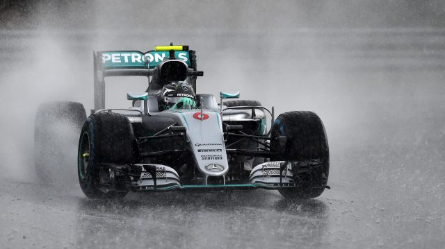 Nico Rosberg (GER) Mercedes-Benz F1 W07 Hybrid at Formula One World Championship, Rd11, Hungarian Grand Prix, Qualifying, Hungaroring, Hungary, Saturday 23 July 2016. &copy&#x3b; Sutton Images