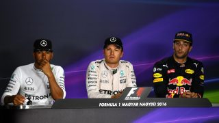 FIA post-qualifying press conference - Hungary