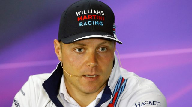 Valtteri Bottas (FIN) Williams in the Press Conference at Formula One World Championship, Rd10, British Grand Prix, Preparations, Silverstone, England, Thursday 7 July 2016. &copy&#x3b; Sutton Images