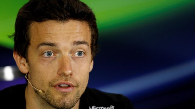 Jolyon Palmer (GBR) Renault Sport F1 Team in the Press Conference at Formula One World Championship, Rd10, British Grand Prix, Preparations, Silverstone, England, Thursday 7 July 2016. &copy&#x3b; Sutton Images