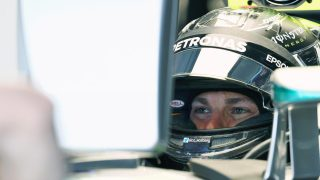 FP2 - Rosberg heads Hamilton once more