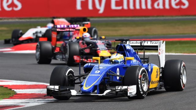 Marcus Ericsson (SWE) Sauber C34 at Formula One World Championship, Rd9, British Grand Prix, Race, Silverstone, England, Sunday 5 July 2015. &copy&#x3b; Sutton Motorsport Images