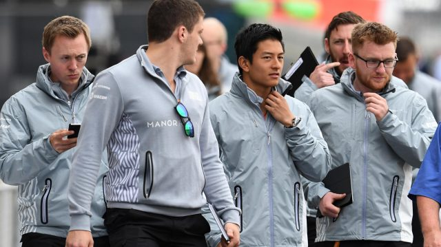 Rio Haryanto (IDN) Manor Racing at Formula One World Championship, Rd10, British Grand Prix, Preparations, Silverstone, England, Thursday 7 July 2016. &copy&#x3b; Sutton Images