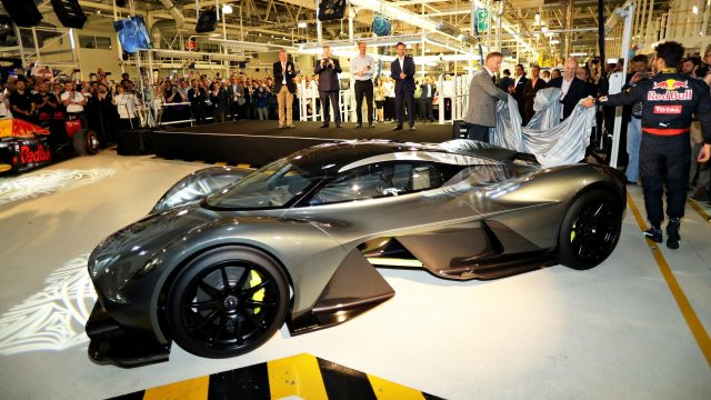 red bull and aston martin reveal am rb 001 road car. Black Bedroom Furniture Sets. Home Design Ideas