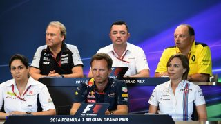 FIA Friday press conference - Belgium