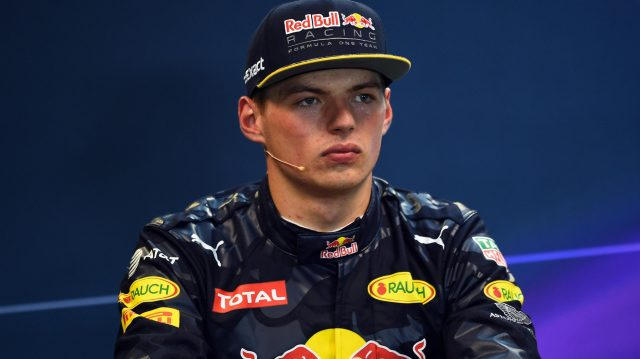 Max Verstappen (NED) Red Bull Racing in the Press Conference at Formula One World Championship, Rd13, Belgian Grand Prix, Qualifying, Spa Francorchamps, Belgium, Saturday 27 August 2016. &copy&#x3b; Sutton Images