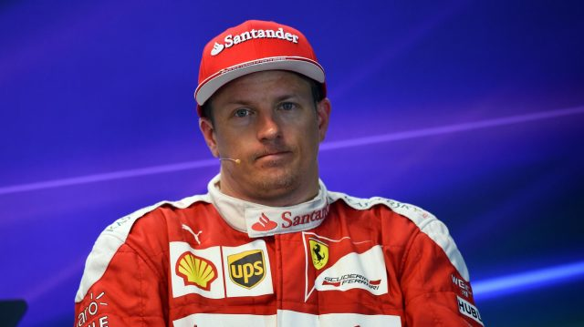Kimi Raikkonen (FIN) Ferrari in the Press Conference at Formula One World Championship, Rd13, Belgian Grand Prix, Qualifying, Spa Francorchamps, Belgium, Saturday 27 August 2016. &copy&#x3b; Sutton Images