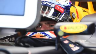 FP2 - Verstappen leads Red Bull one-two in Belgium