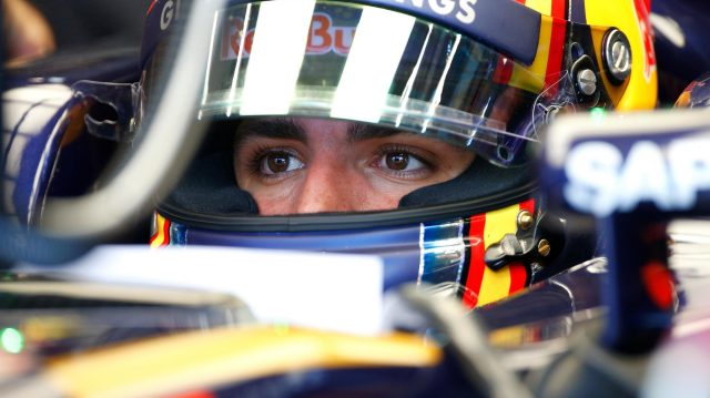 Carlos Sainz jr (ESP) Scuderia Toro Rosso at Formula One World Championship, Rd13, Belgian Grand Prix, Qualifying, Spa Francorchamps, Belgium, Saturday 27 August 2016. &copy&#x3b; Sutton Images