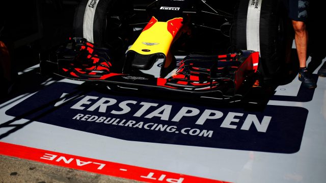The car of Max Verstappen (NED) Red Bull Racing RB12 at Formula One World Championship, Rd13, Belgian Grand Prix, Preparations, Spa Francorchamps, Belgium, Thursday 25 August 2016. &copy&#x3b; Sutton Images