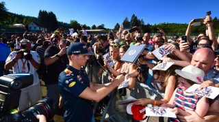 Verstappen already a crowd pleaser at 'home' race