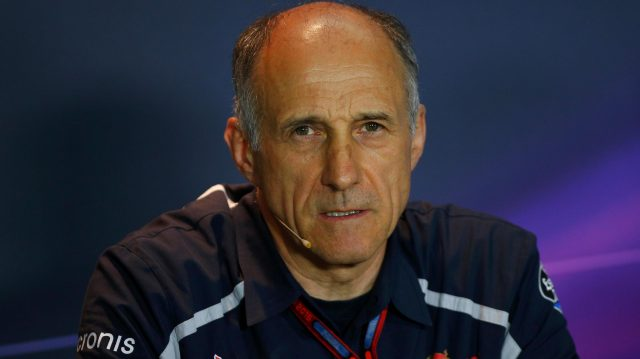 Franz Tost (AUT) Scuderia Toro Rosso Team Principal in the Press Conference at Formula One World Championship, Rd14, Italian Grand Prix, Practice, Monza, Italy, Friday 2 September 2016. &copy&#x3b; Sutton Images