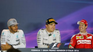FIA post-race press conference - Italy