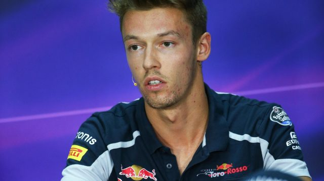 Daniil Kvyat (RUS) Scuderia Toro Rosso in the Press Conference at Formula One World Championship, Rd16, Malaysian Grand Prix, Preparations, Sepang, Malaysia, Thursday 29 September 2016. &copy&#x3b; Sutton Images