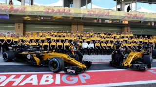 Renault hail 'amazing' Hulkenberg after clinching sixth
