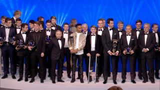 Hamilton, Verstappen, Leclerc star at FIA Awards