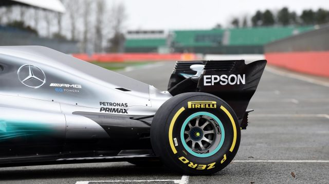 2017 Mercedes breaks cover at Silverstone