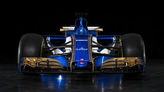 Sauber reveal new car in anniversary livery
