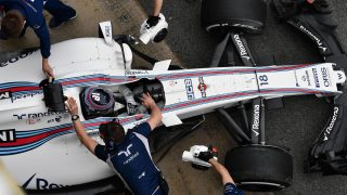 Stroll spin brings early end to Williams' Tuesday running