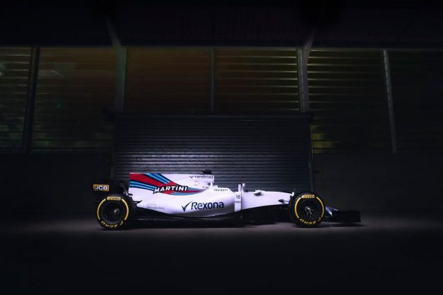 The Williams FW40, Saturday 25th February 2017, © WilliamsF1