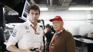 Wolff and Lauda renew Mercedes contracts until 2020