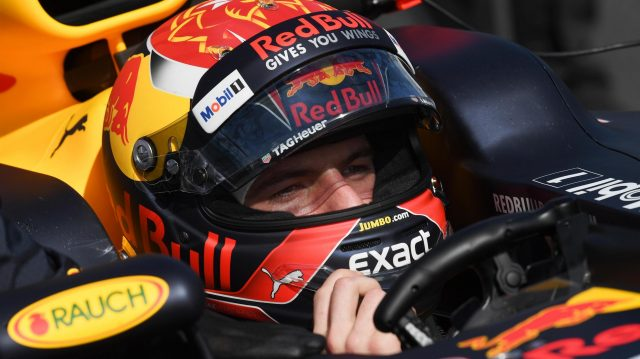 Max Verstappen (NED) Red Bull Racing RB13 on the grid at Formula One World Championship, Rd1, Australian Grand Prix, Race, Albert Park, Melbourne, Australia, Sunday 26 March 2017. &copy&#x3b; Sutton Motorsport Images