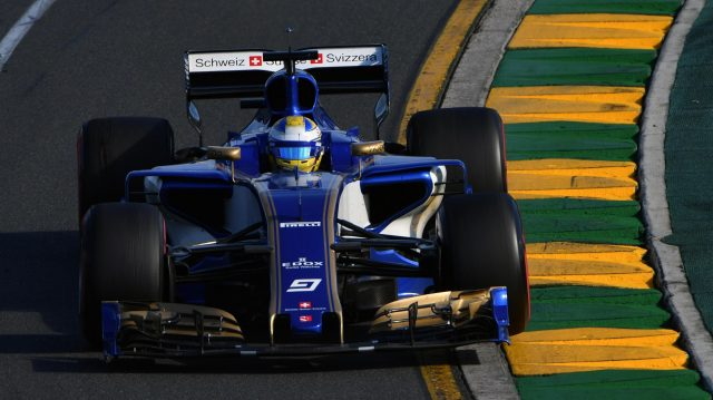 Marcus Ericsson (SWE) Sauber C36 at Formula One World Championship, Rd1, Australian Grand Prix, Race, Albert Park, Melbourne, Australia, Sunday 26 March 2017. &copy&#x3b; Sutton Motorsport Images
