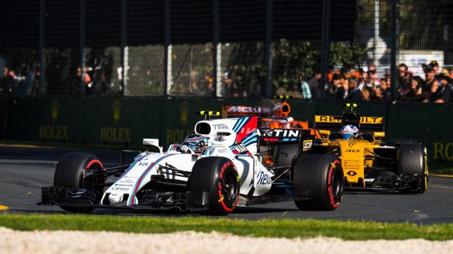 Lance Stroll (CDN) Williams FW40 at Formula One World Championship, Rd1, Australian Grand Prix, Race, Albert Park, Melbourne, Australia, Sunday 26 March 2017. &copy&#x3b; Sutton Motorsport Images