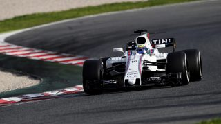 Massa leads for Williams on first day of final test